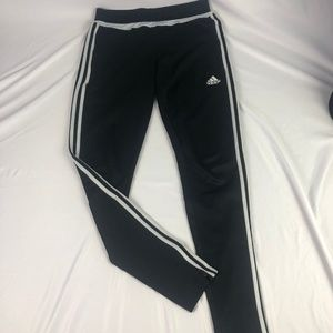 Black and White Adidas Joggers